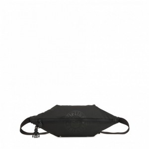 Black Friday 2020 | Kipling Sac à bandoulière moyen convertible en banane Raw Black pas cher