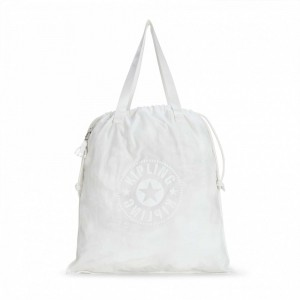 Black Friday 2020 | Kipling Sac Cabas Déperlant Lively White pas cher