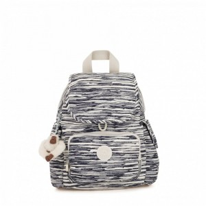 Black Friday 2020 | Kipling Sac à Dos City Pack Mini Scribble Lines pas cher