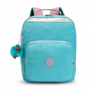 Black Friday 2020 | Kipling Sac à Dos Médium Bright Aqua C pas cher