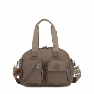 Kipling Medium shoulderbag (with removable shoulderstrap) True Beige pas cher
