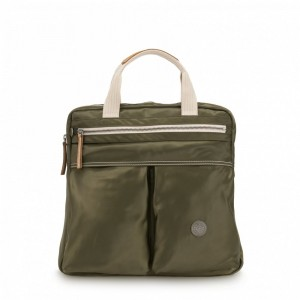 Black Friday 2020 | Kipling Petit sac à dos et à main 2 en 1 Elevated Green pas cher