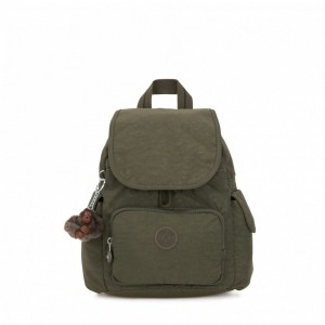 Vacances Noel 2019 | Kipling Sac à Dos City Pack Mini Jaded Green C pas cher