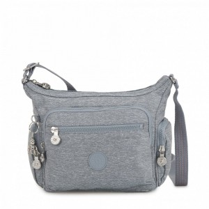 Black Friday 2020 | Kipling Petit sac bandoulière à compartiments multiples Cool Denim pas cher