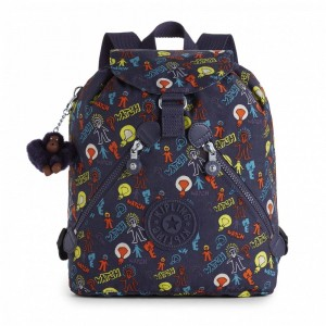 Vacances Noel 2019 | Kipling Sac à Dos Medium à Cordon Bright Light pas cher
