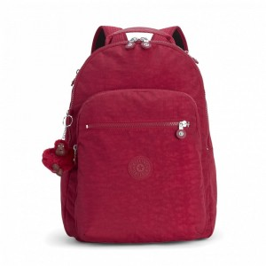 [Black Friday 2019] Kipling Grand Sac à Dos Avec Protection Pour Ordinateur Portable Radiant Red C pas cher