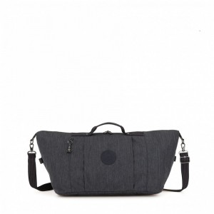 Kipling Small duffle Active Denim pas cher