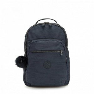 [Black Friday 2019] Kipling Grand Sac à Dos Avec Protection Pour Ordinateur Portable True Dazz Navy pas cher