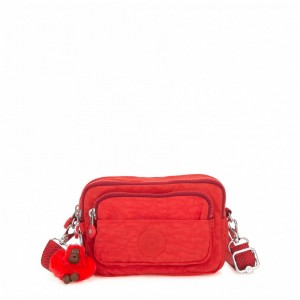 [Black Friday 2019] Kipling Sac Banane Convertible en Sac Épaule Active Red pas cher