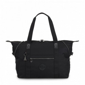 Vacances Noel 2019 | Kipling Medium tote Rich Black pas cher