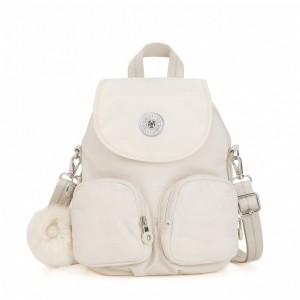 Black Friday 2020 | Kipling Petit sac à dos transformable en sac à bandoulière Dazz White pas cher