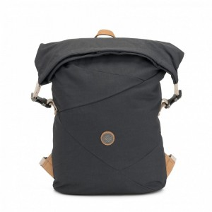 Black Friday 2020 | Kipling Grand sac à dos extensible avec compartiment pour laptop Casual Grey pas cher