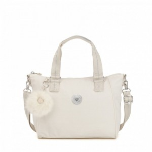 Black Friday 2020 | Kipling Sac à Main Medium Avec Bretelle Amovible Dazz White pas cher