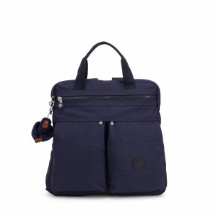Black Friday 2020 | Kipling Petit sac à dos et à main 2 en 1 Active Blue pas cher