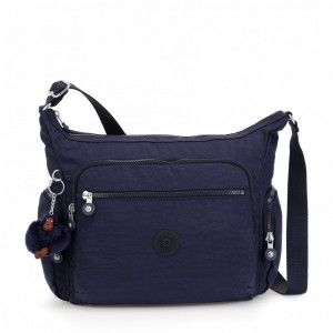 Black Friday 2020 | Kipling Sac épaule Medium Avec Bretelle Ajustable Active Blue pas cher