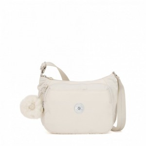 Black Friday 2020 | Kipling Sac à Main Imprimé avec Sangle Extensible Dazz White pas cher