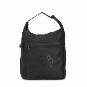 Black Friday 2020 | Kipling Grand sac à dos convertible Raw Black pas cher