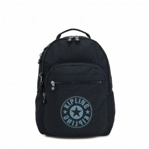 [Black Friday 2019] Kipling Sac à Dos Medium avec Compartiment pour Ordinateur Lively Navy pas cher