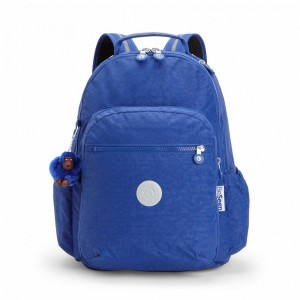 Black Friday 2020 | Kipling Grand Sac à Dos avec Protection pour Ordinateur Portable Cobalt Flash pas cher