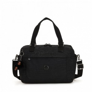 Kipling Small shoulderbag (with removable shoulderstrap) Blkcrocel pas cher