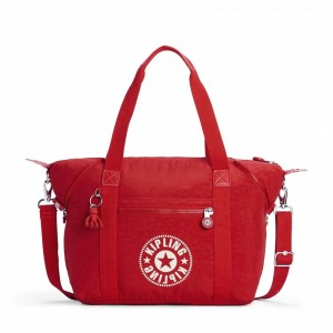 Black Friday 2020 | Kipling Sac Cabas avec Sangle Détachable Lively Red pas cher