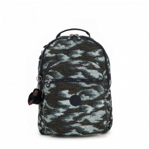 Black Friday 2020 | Kipling Grand Sac à Dos Avec Protection Pour Ordinateur Portable Dynamic Dots pas cher