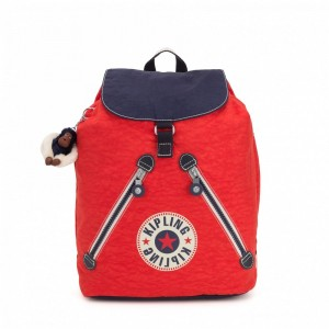[Black Friday 2019] Kipling Sac à dos Active Red Bl pas cher