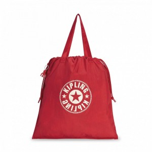 [Black Friday 2019] Kipling Sac Cabas Déperlant Lively Red pas cher