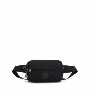 Vacances Noel 2019 | Kipling Small crossbody (convertible to waistbag) Rich Black pas cher