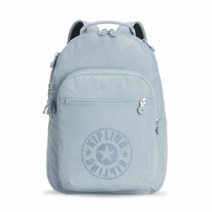 Black Friday 2020 | Kipling Sac à Dos Medium avec Compartiment pour Ordinateur Mellow Blue C pas cher