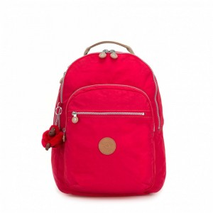 [Black Friday 2019] Kipling Grand Sac à Dos Avec Protection Pour Ordinateur Portable True Red C pas cher