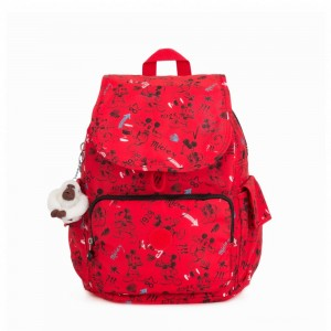 [Black Friday 2019] Kipling Sac à dos moyen Sketch Red pas cher