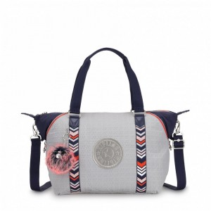 Kipling Sac à Main New Grey Emb Bl pas cher