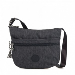 Vacances Noel 2019 | Kipling Small crossbody Active Denim pas cher