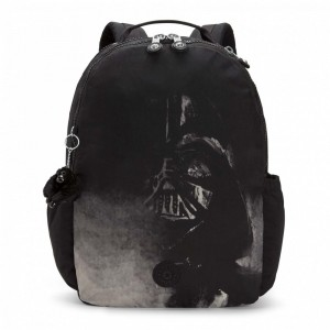[Black Friday 2019] Kipling Très grand sac à dos laptop Star Wars DRTHVDRBLK pas cher