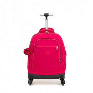 [Black Friday 2019] Kipling Sac à Roulettes True Pink pas cher