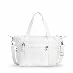 Black Friday 2020 | Kipling Sac Cabas avec Sangle Détachable Lively White pas cher