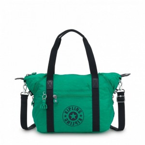 Black Friday 2020 | Kipling Sac Cabas avec Sangle Détachable Lively Green pas cher