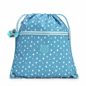 Vacances Noel 2019 | Kipling Grand Sac à Cordon Cool Star Girl pas cher