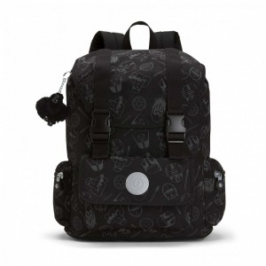 Black Friday 2020 | Kipling Grand sac à dos laptop à imprimé Star Wars GXFARFAWAY pas cher