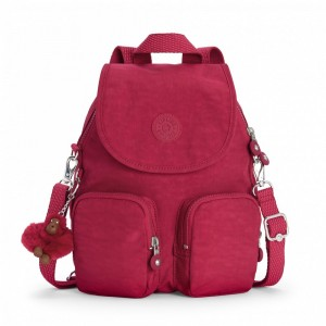 Black Friday 2020 | Kipling Petit sac à dos transformable en sac à bandoulière Radiant Red C pas cher