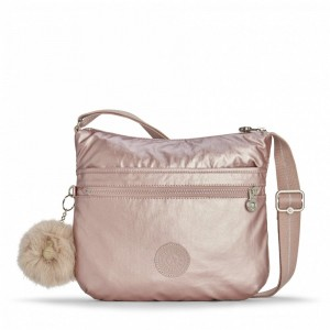 [Black Friday 2019] Kipling Sac épaule Bandoulière Metallic Blush pas cher