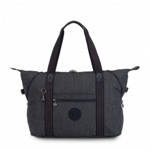 Vacances Noel 2019 | Kipling Medium tote Active Denim pas cher