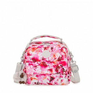 Kipling Small handbag (convertible to backpack) Floral Poetry pas cher