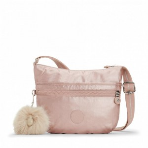 [Black Friday 2019] Kipling Petit Sac Bandoulière Metallic Blush pas cher