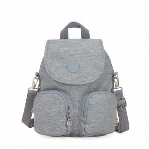Black Friday 2020 | Kipling Small backpack (convertible to shoulderbag) Cool Denim pas cher