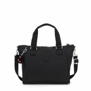 Black Friday 2020 | Kipling Sac à Main Medium Avec Bretelle Amovible True Black pas cher