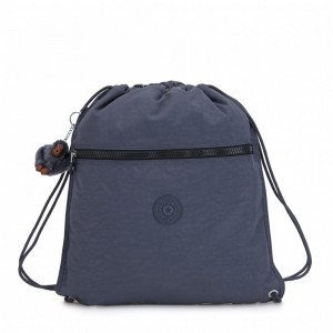 Kipling Grand Sac à Cordon True Jeans pas cher