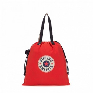 Black Friday 2020 | Kipling Grand fourre-tout pliable Active Red Bl pas cher