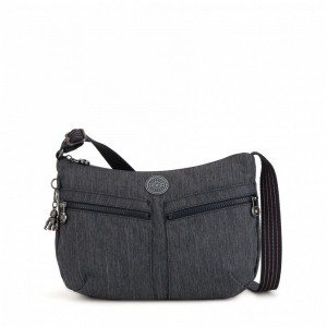 Vacances Noel 2019 | Kipling Medium crossbody Active Denim pas cher